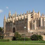 Jour 6 - La Seu, cathédrale de Palma (à travers les vitres de la voiture)