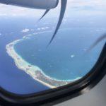 Jour 15 - Avion vue de Rangiroa 1