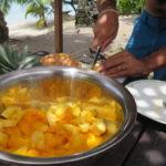 Jour 7 - Moorea fruits (ananas et mangue)