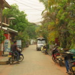 Jour 10 - Luang Prabang devant la guesthouse 1