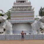 Jour 4 - Vientiane Patuxai (arc de triomphe) devant
