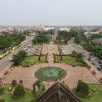 Jour 4 - Vientiane Patuxai (arc de triomphe) vue d