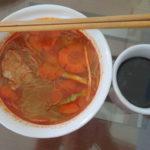 Jour 8 - noodle soup du petit-déj