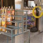 Jour 2 - Siem Reap - scène de rue 5 (station-essence)
