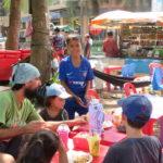 Jour 4 - Siem Reap déj dans la rue 1
