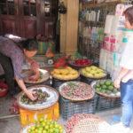 Jour 22 - Hanoï marché 1 (fruits)