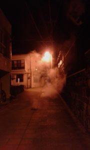 Jour 14 - steam punk vibes la nuit à Beppu