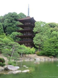 Jour 15 - Yamaguchi Pagode Ruriko-ji 1