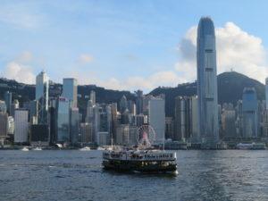 Jour 5 - Sur le ferry entre HK et Kowloon 2