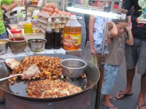 Jour 1 - Malacca marché de Jonker Street 5 (radish cake)