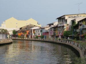 Jour 2 - Malacca quais de la Rivière Malacca 2