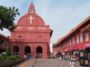 Jour 3 - Malacca Windmill Dutch Square