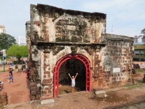 Jour 3 - Malacca ruines portugaises 1 (A Famosa)