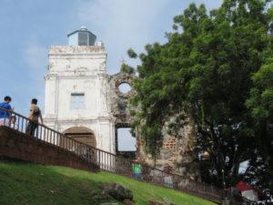 Jour 3 - Malacca ruines portugaises 4 (Eglise Saint-Paul)