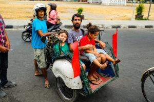 Jour 3 - Yogyakarta retour en tuk-tuk