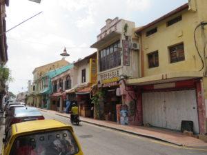 Jour 4 - Malacca rue de l