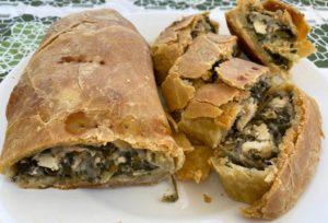 cuisine grecque - spanakopita