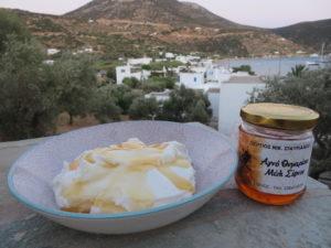 cuisine grecque - yaourt au miel