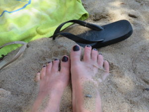 Jour 1 - F. pieds